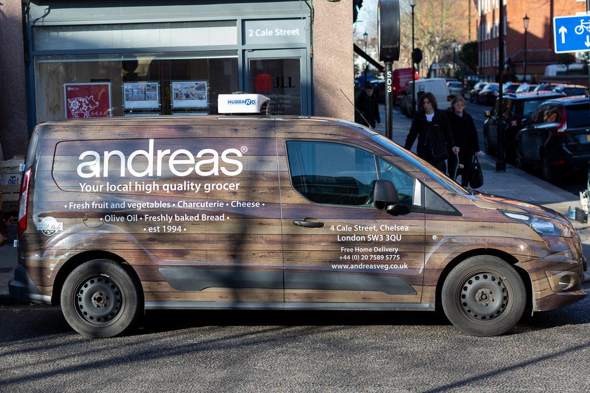 New Covent Garden Market Customer Profile February 2018 Andreas Veg Van