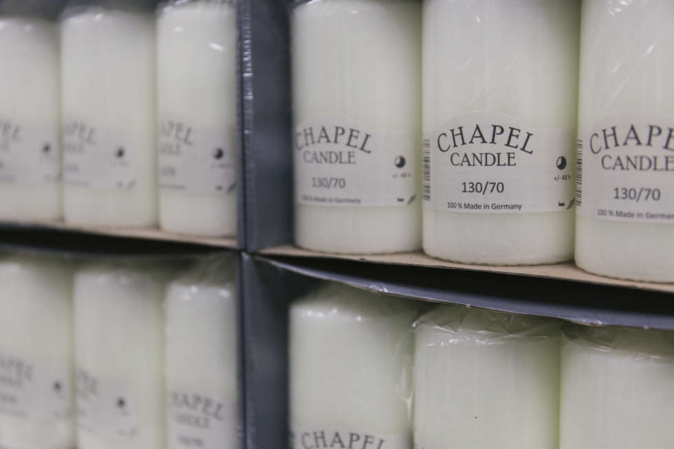A florist's guide to candles & candelabras at the Flower Market