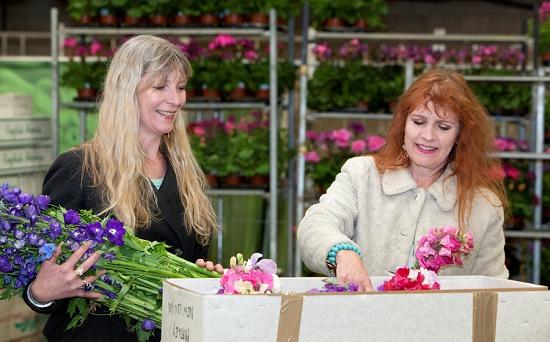 Rebel Rebel on Pratleys at New Covent Garden Flower Market