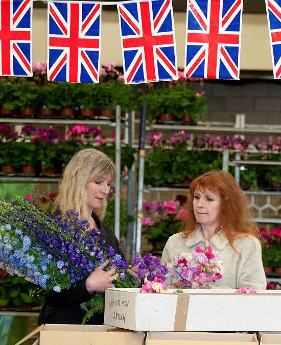 Rebel Rebel at Pratleys at New Covent Garden Flower Market