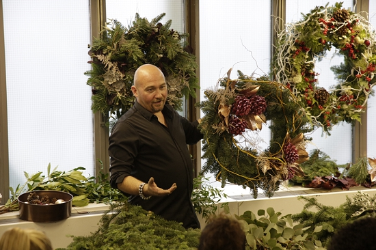 Alan Simpson of Hybrid at New covent Garden Flower Market College DAy 2015