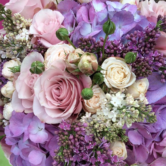 Amanda Austin Flowers' arrangement using Lilac