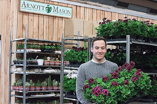 Arnott & Mason at New Covent Garden Flower Market