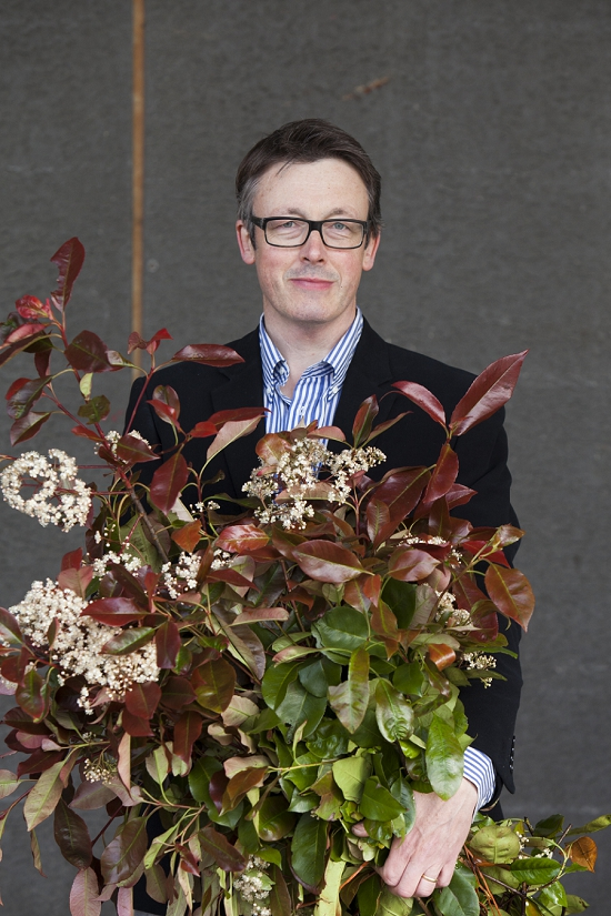 Shane Connolly at New Covent Garden Flower Market