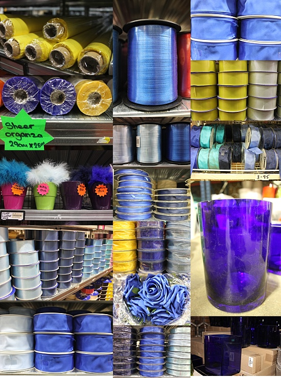 Blue and Yellow Sundries