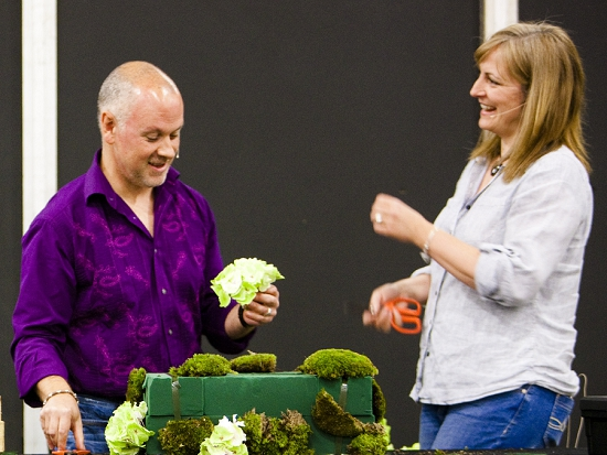 Euphoric Flowers - British Flowers Week 2014
