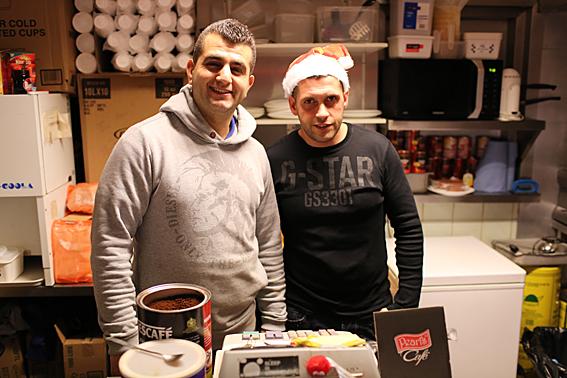 Osman Erdal at Pavilion Café