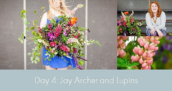 British Flowers Week 2015 - Day 4 - Jay Archer and Lupins