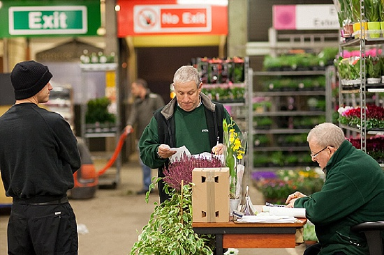 Evergreen Exterior Services at New Covent Garden Flower Market