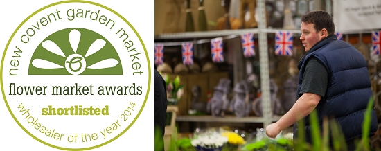 Donovans - Flower Market Awards Shortlist 2014