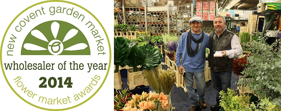 Dennis Edwards Flowers - Flower Market Awards Winner 2014
