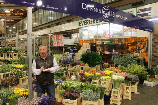 Dennis at Dennis Edwards Flowers