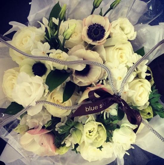 Anemone design by Blue Sky Flowers
