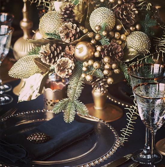 Mary Jane Vaughan metallic arrangement