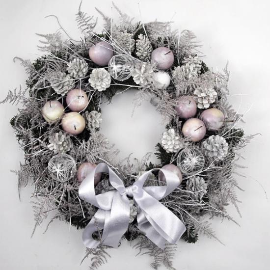 McQueens pastel wreath
