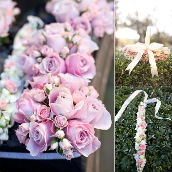 Wedding designs using spray roses by appointment only design