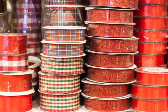 Ribbons at New Covent Garden Flower Market - Christmas Special - December 2014