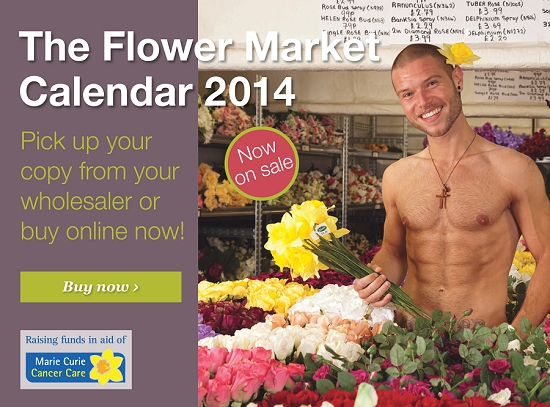 Buy the Flower Market Calendar 2014 now!