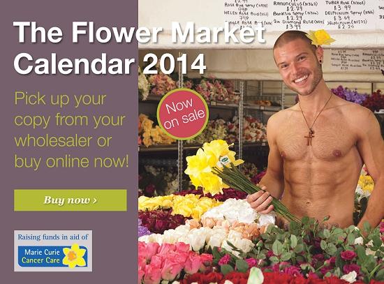 Buy the Flower Market Calendar 2014 now!
