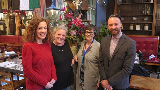 Judges of the New Covent Garden Flower Market Awards 2014