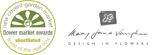 Mary Jane Vaughan. Shortlisted at the New Covent Garden Flower Market Awards 2014