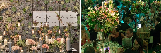 Mary Jane Vaughan designs. Shortlisted at the New Covent Garden Flower Market Awards 2014