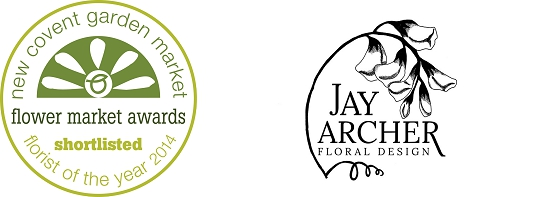 Jay Archer. Shortlisted at the New Covent Garden Flower Market Awards 2014