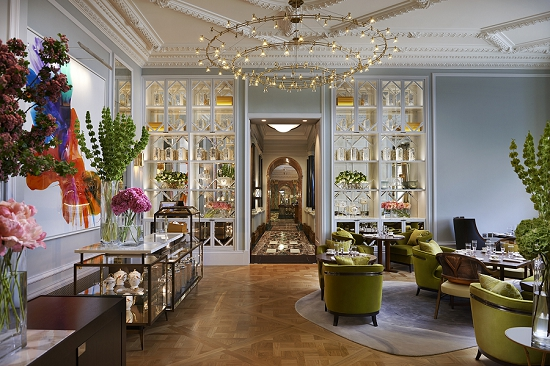 Neil Birks design at the Mandarin Oriental Hyde Park