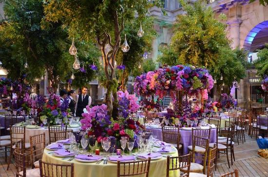 Ming Veevers Carter decorated this Nigerian Wedding