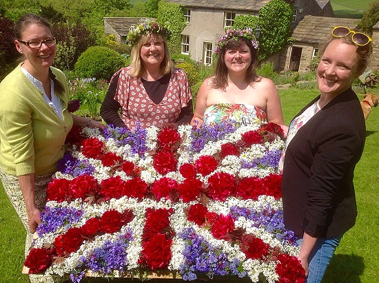 Owl House Flowers' winning British Flowers Week design