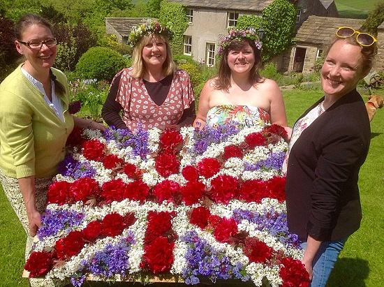 Owl House Flowers' winning British Flowers Week design