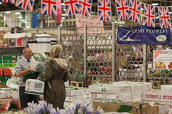 Pratley at New Covent Garden Flower Market