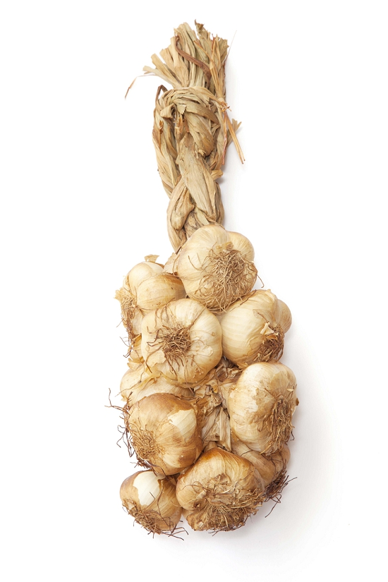 New Covent Garden Market - Smoked Bunched Garlic