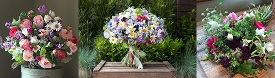 British Flowers Week bouquets