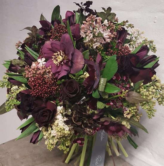 Rob Van Helden Floral Design using Lilac