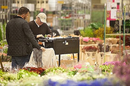 S R Allen at New Covent Garden Flower Market