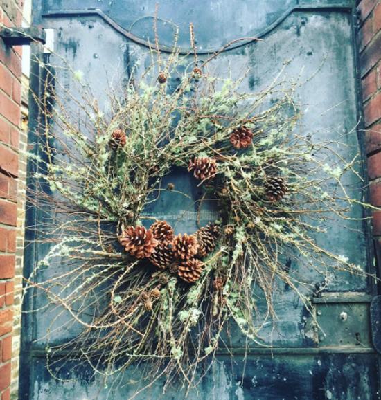 That Flower Shop natural look wreath