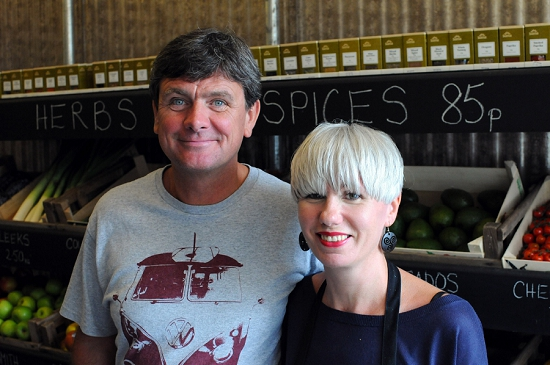 New Covent Garden Market - Gill and Paul of The Allotment