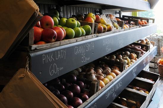 New Covent Garden Market - The Allotment's Stylish Shelves