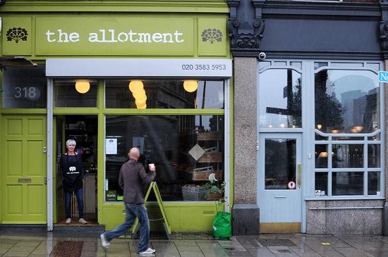 New Covent Garden Market - The Allotment