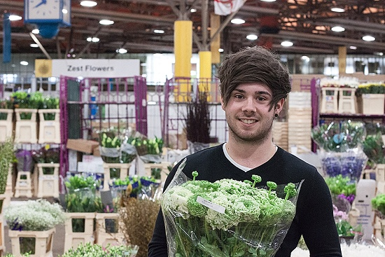 New Covent Garden Market Wholesaler of the Year 2015 - Zest Flowers - Luke