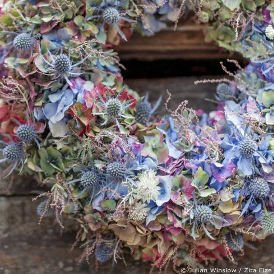 Zita Elze pastel wreath