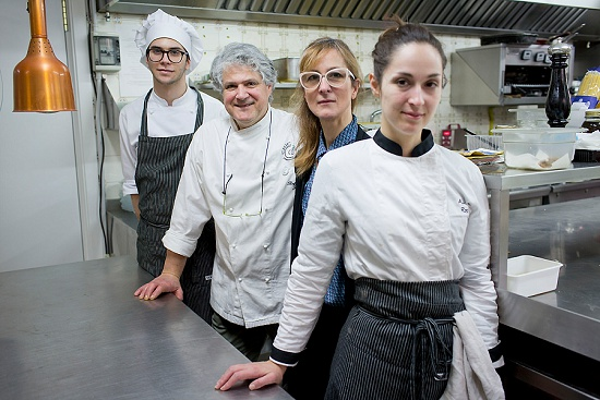 The kitchen team at San Martino