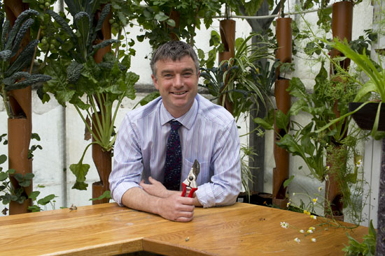 James Pashley - head of horticulture at Plumpton College