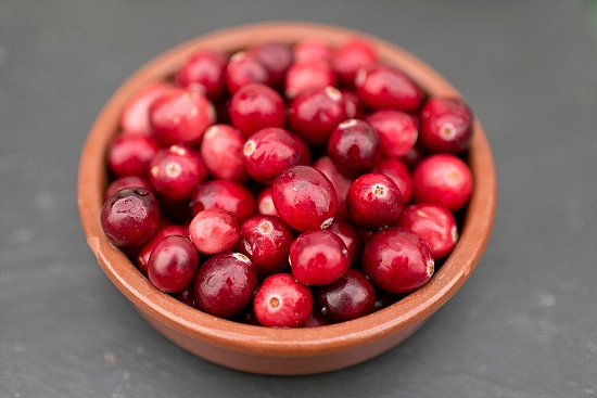 Jumbo Cranberries at New Covent Garden Market - November 2015