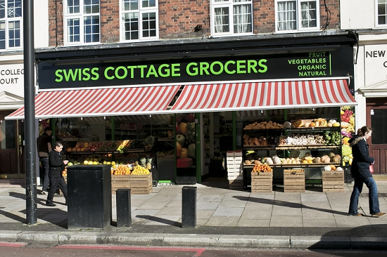 Swiss Cottage Grocers buys from New Covent Garden Market