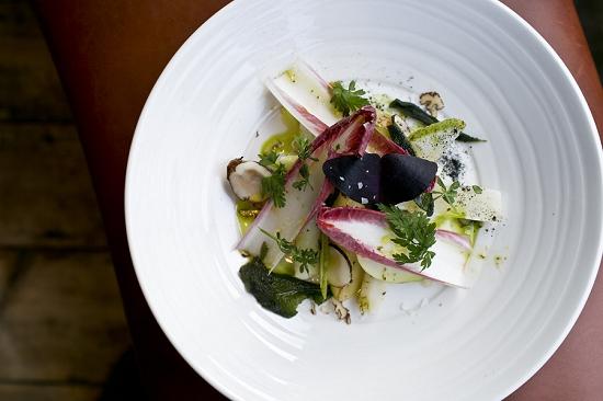 Salsify salad