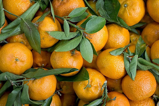 Clementines at New Covent Garden Fruit & Vegetable Market - January 2016