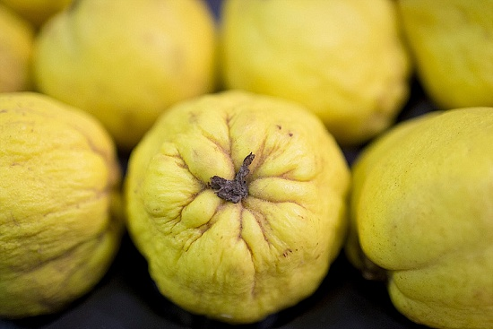 Quince at New Covent Garden Fruit & Vegetable Market - January 2016