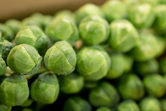 Sprouts at New Covent Garden Fruit & Vegetable Market - January 2016